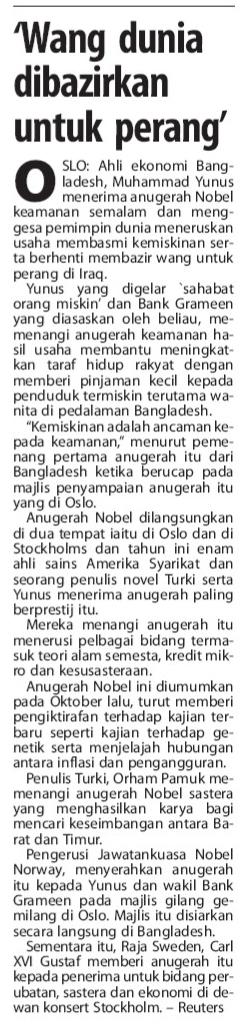 Berita Harian 11-12-2006
