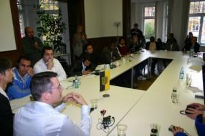 Diskusi antara pimpinan Julis
